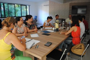 Empresas e comissão se reuniram para definir as novidades