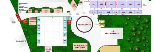 Mapa Geral Suinofest 2017