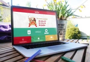 Novo site está moderno, interativo e fácil de navegar