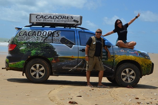 Em 53 meses de expedição, o casal já catalogou mais de 1,1 mil projetos
