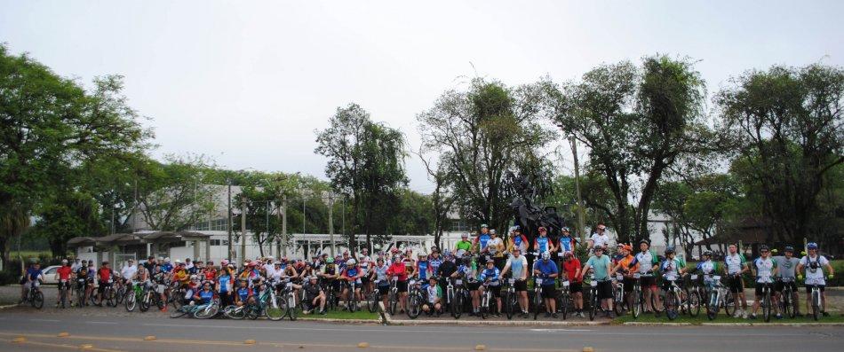 Ciclistasparticipantesdo2CicloturismoEncantado