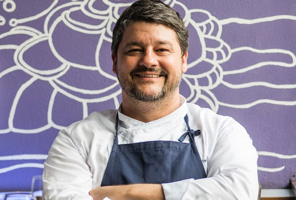 Chef Carlos Kristensen da Hashi Art Cuisine estará no evento