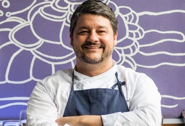 Chef Carlos Kristensen da Hashi Art Cuisine estará no evento