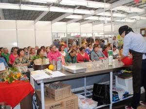 Grande público participou das oficinas gourmet